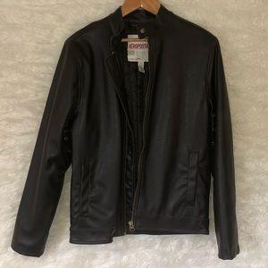 Men's faux leather Aeropostale coat.